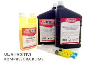 ulja i aditivi kompresora klime